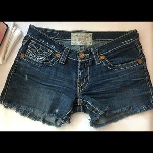BIG STAR liv jean shorts